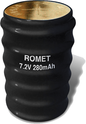 Romet 7.2 Volt  Cylinder Battery